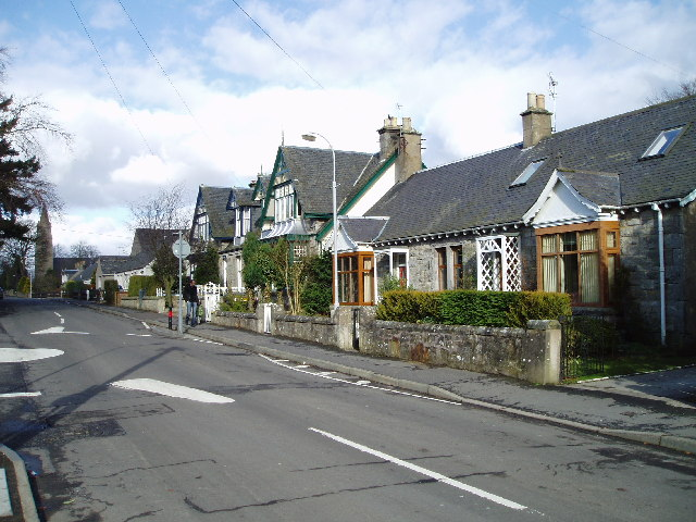 Cottages in Ladybank, Fife