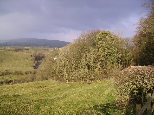 Valley of the River Greta