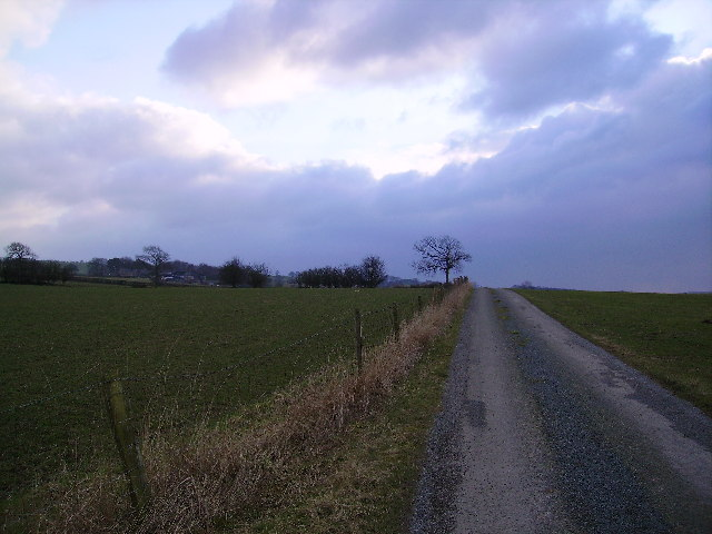 Road to Kirkbeck Farm