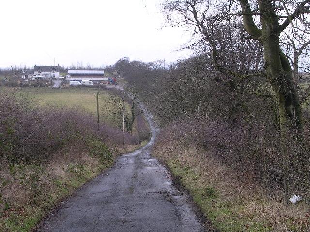 Hornshill Farm Track
