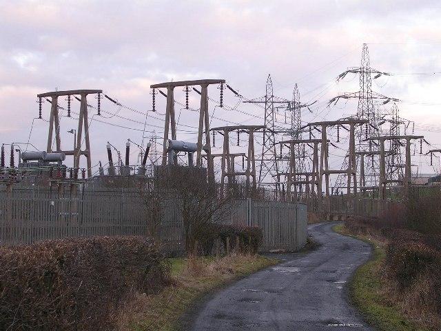 Electricity Substation near Gartcosh