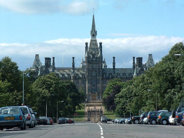 Fettes College from the south