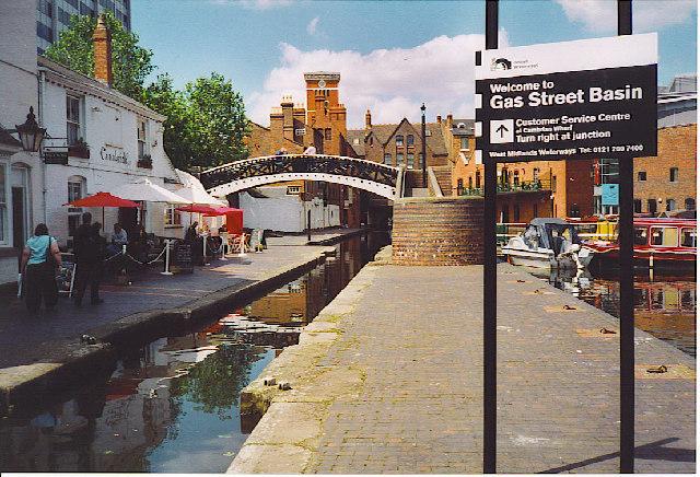 Gas Street Basin.