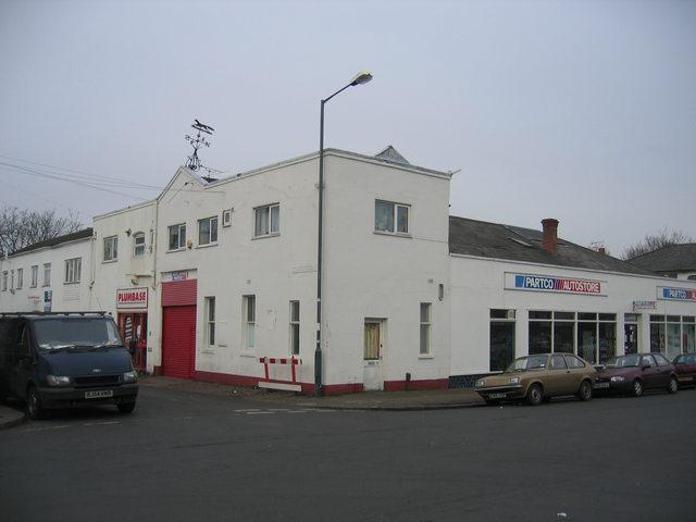 Garage, Beauchamp Road