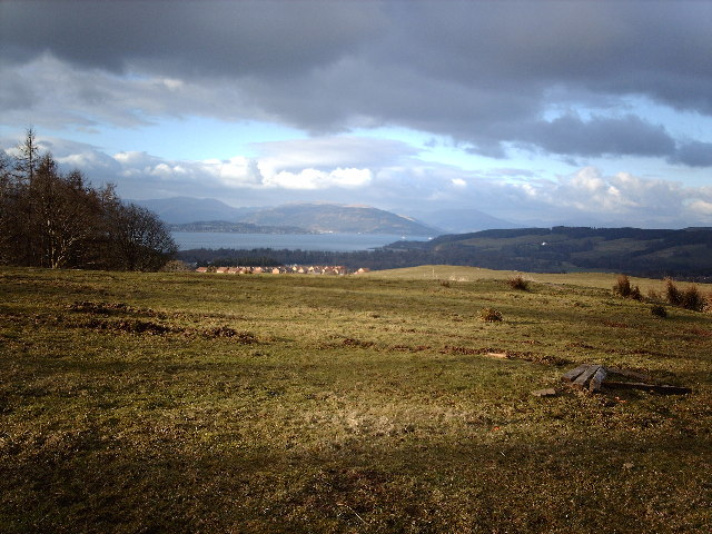 Ardoch Hill and Firth of Clyde