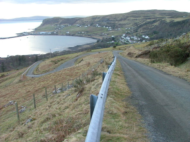 Hairpins on Glen Conon Road