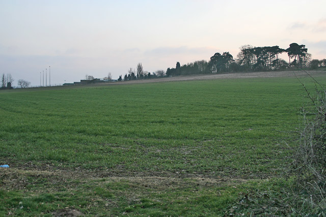 Farmland near Wanlip, Leicestershire