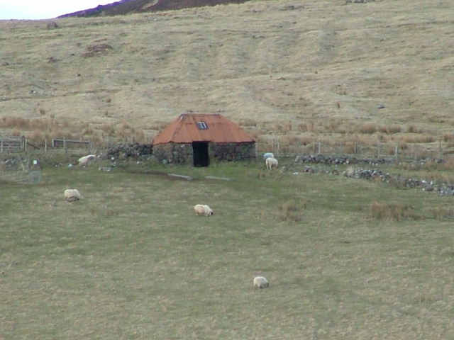 Croft building in Glen Conon