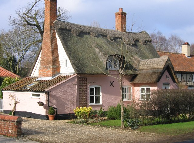 Grange Farm cottage, Bramerton