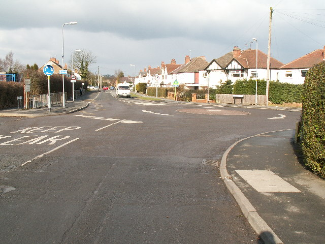 Road junction , Rubery