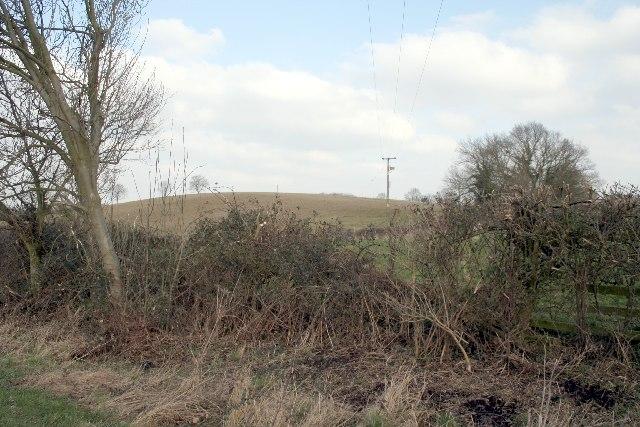 A hill in Lincolnshire