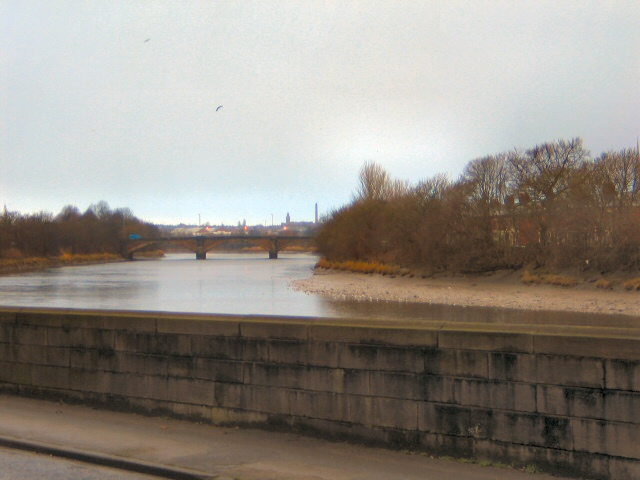 River Ribble from Penwortham Bridge