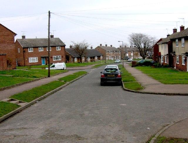 Osmund Road, Eckington in NE Derbyshire