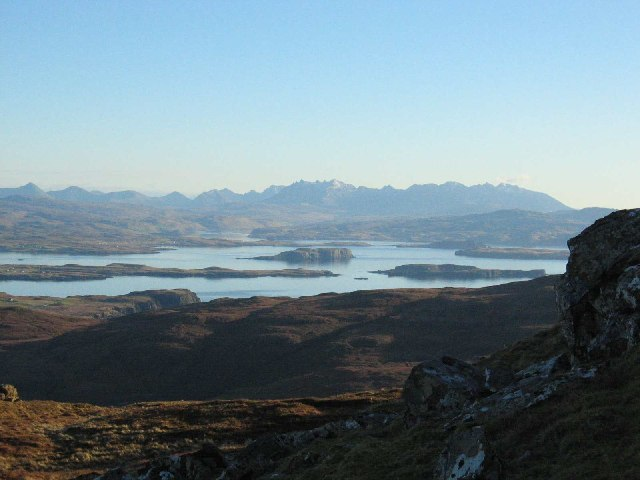 View from Healabhal Mhòr