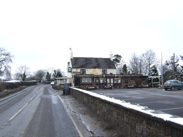 The Ketch, between Ashbourne and Wirksworth