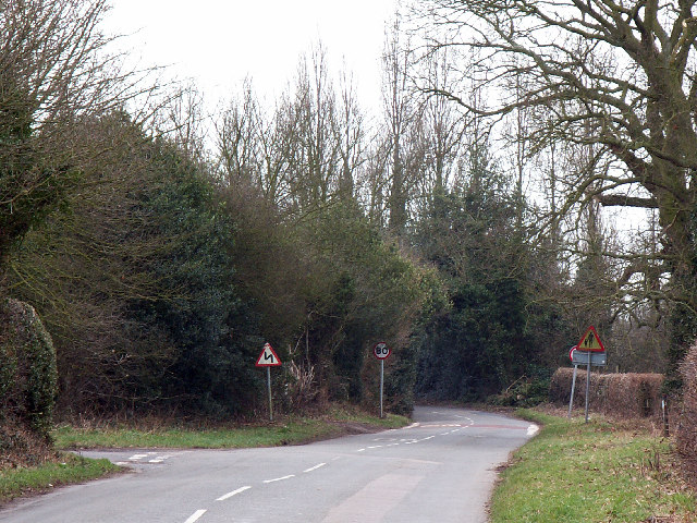 Road junction east of Lickey End