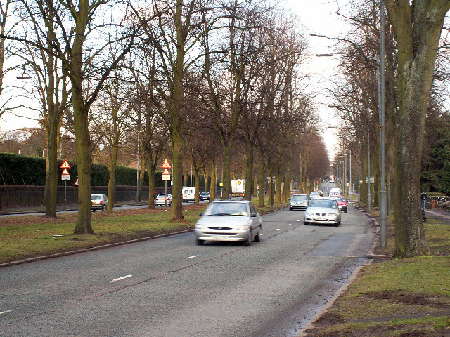Bristol Road (A38) near Selly Park / Bournbrook