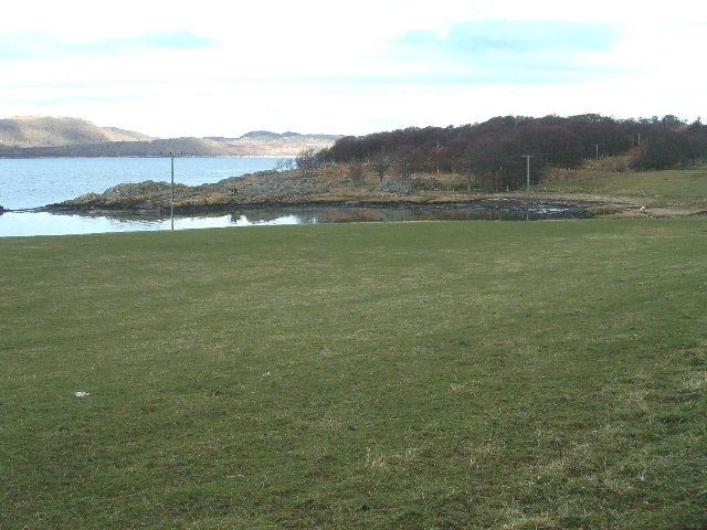 Small bay on Loch Sween