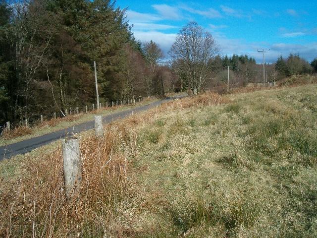 The road to Achnamara