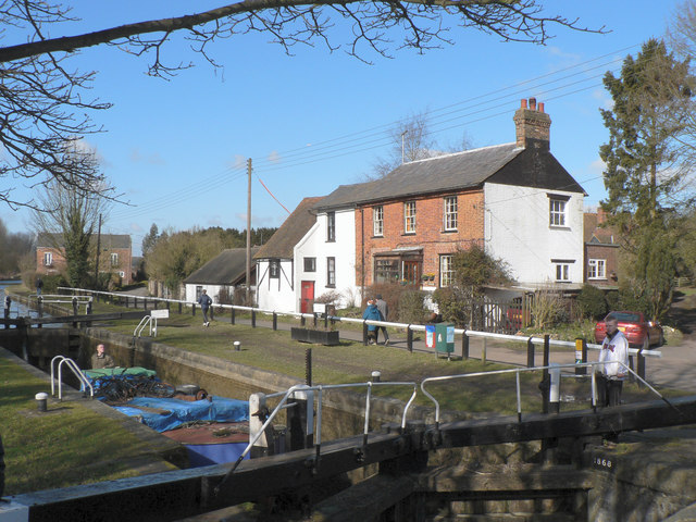 Lock at Dudswell