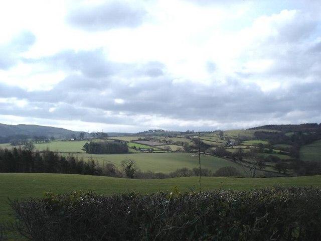 Farmland near Dolwen