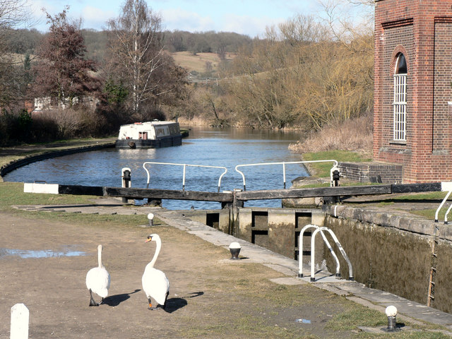 Lock and Canal Basin at Northchurch