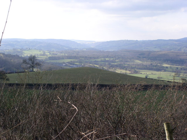 Hill near Berth Farm