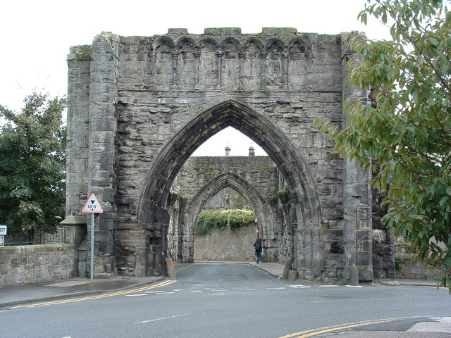 The Pends archways, St Andrews