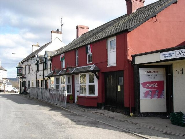 Cottages at Llansannan