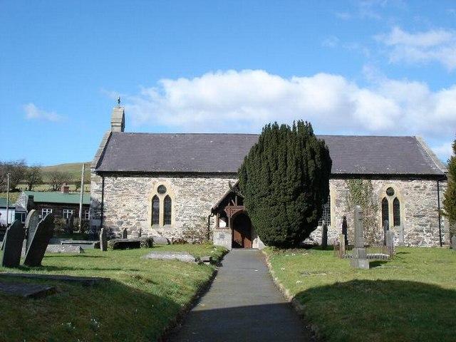 St. Sannan church Llansannan