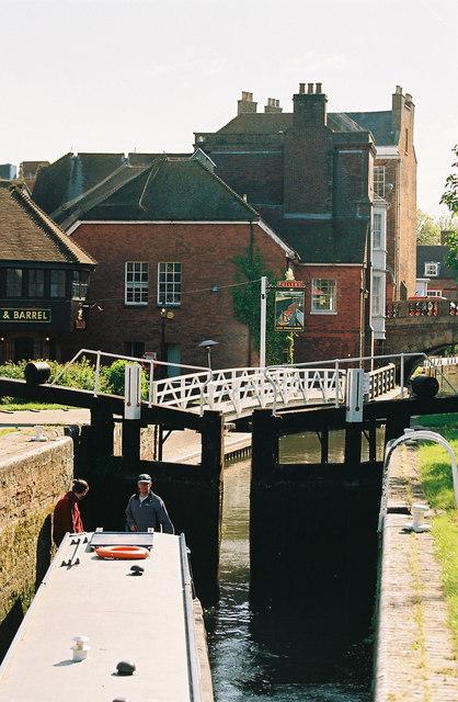 Newbury Lock and Newbury Bridge