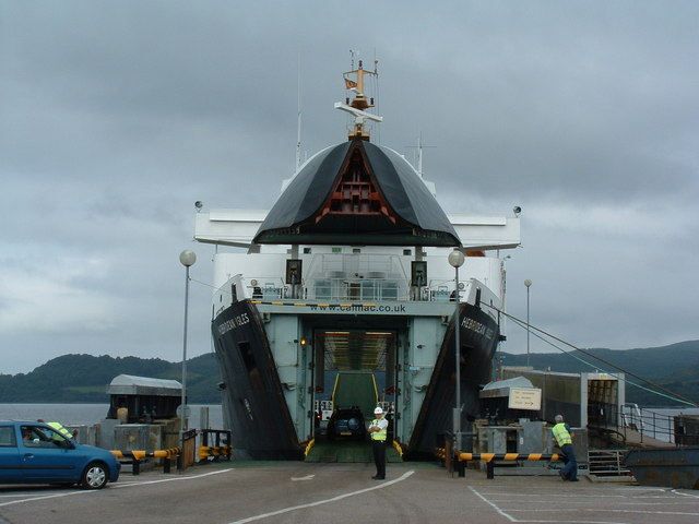 Kennacraig to Islay ferry