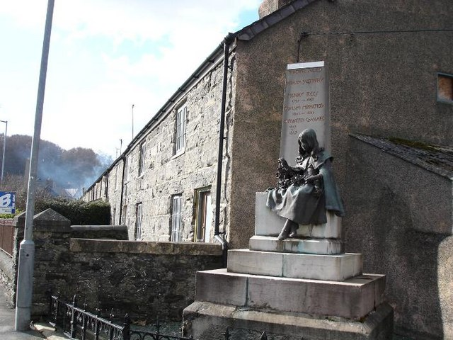"""The Girl"" Llansannan"