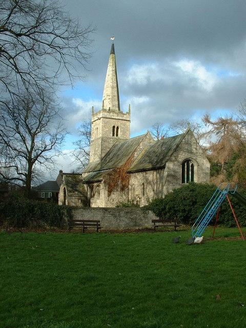 St Helen's Church, Marr