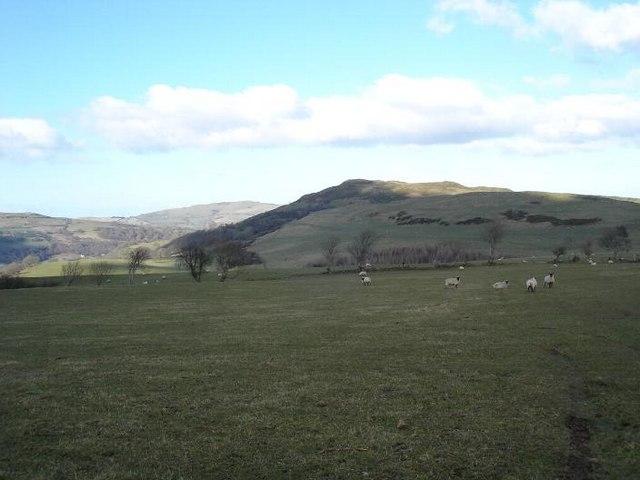 Hills above Llansannan