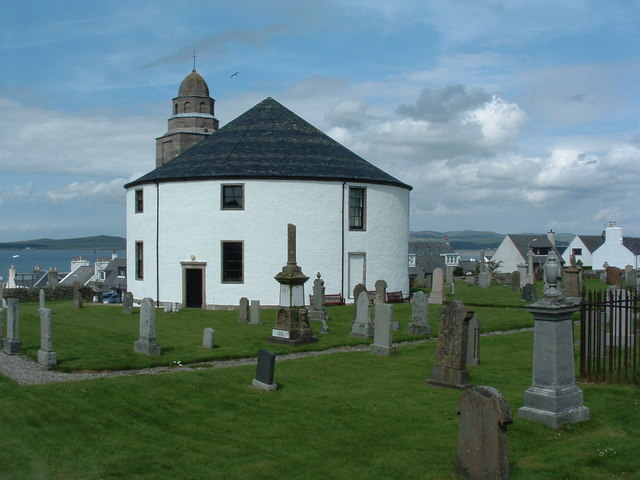 Bowmore Round Church.