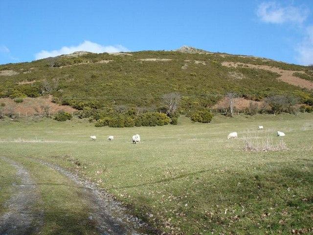 Hill near Llangernyw