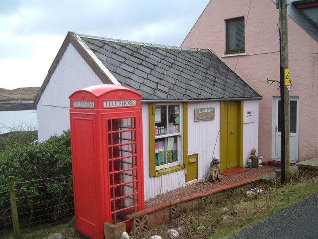 Abhainn Suidhe Post Office