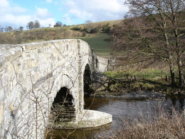 Bridge at Llangernyw