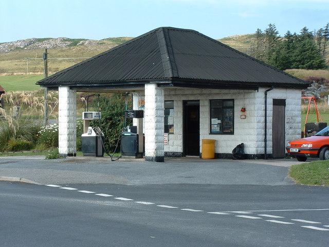 Port Ellen filling station