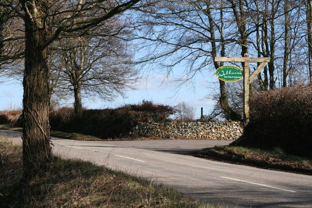 Hemyock: the entrance to Wallace's