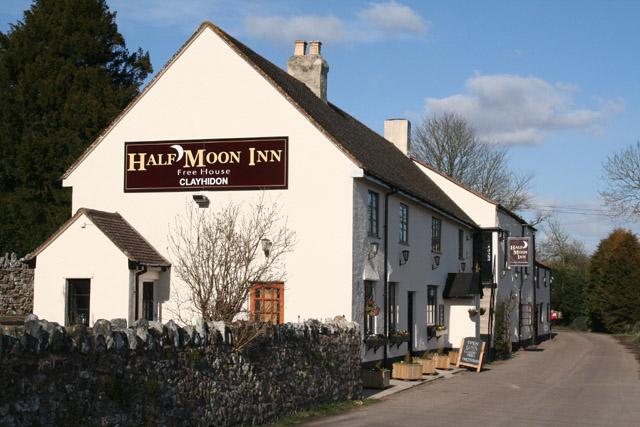 Clayhidon: the Half Moon Inn
