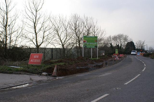 Cheddar Road Works
