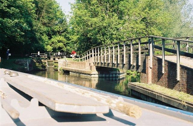 Footbridge over the Kennet