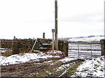 SK2795 : Stile to White Lea Farm by Roger May
