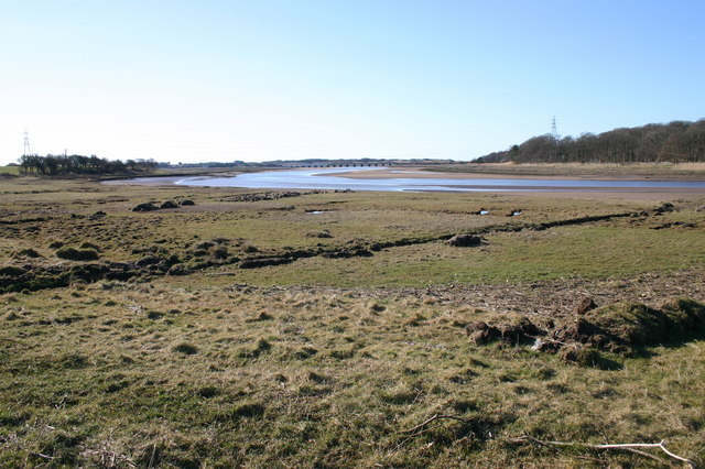 River Esk and Salt Marsh