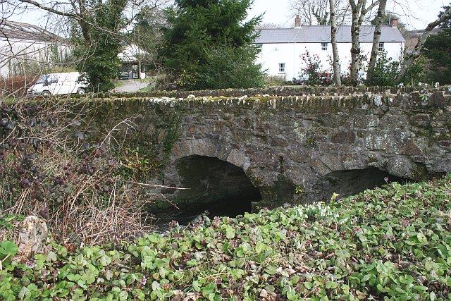 The Old Bridge at Kestle Mill