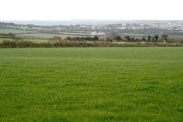 Isolated House in Farmland outside St Columb Minor