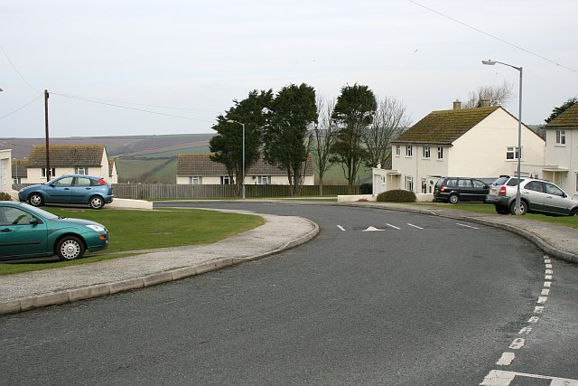 Housing Estate in St Columb Minor
