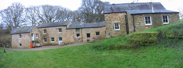 Ramshaw Mill and farmhouse, near Wark